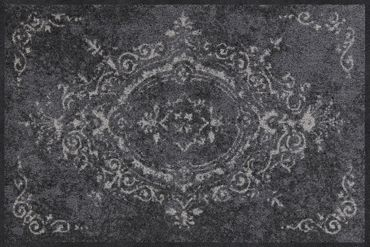 Salonloewe Fußmatte Amira grey waschbarer Läufer  – Bild 1