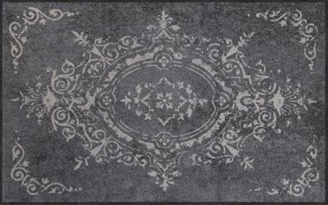 Salonloewe Fußmatte Amira grey waschbarer Läufer  – Bild 3