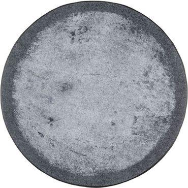 wash+dry Fußmatte Shades of grey Rundteppich waschbare Schmutzmatte