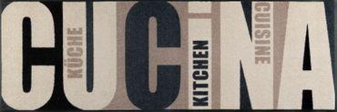 Waschbare wash+dry Fußmatte Cucina pura 60 x 180 cm Küchenteppich – Bild 1