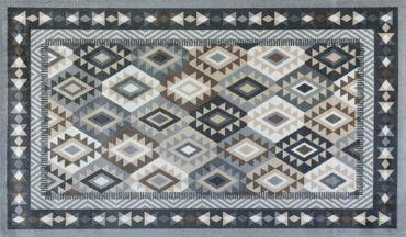 wash+dry Fußmatte Santa Fe nature randloser waschbarer Teppich Decor – Bild 1