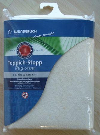 Teppichunterlage  für Teppichböden bei wellenden Teppiche