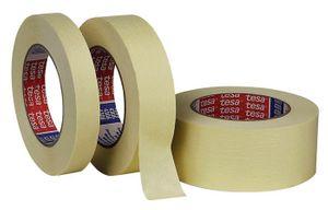 16x TESA Kreppband 5281 Länge 50m Breite 19mm transparent glatt – Bild 1