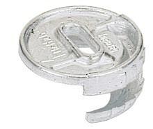 200x HETTICH Exzenter-Verbinder RASTEX 25 Zinkdruckguss blank – Bild 1