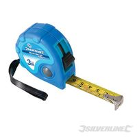 "Silverline Rollmaßband ""Measure Mate"" 3 m x 16 mm"