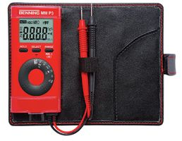 BENNING Multimeter MM P3 Dig. LC-Display 0,1-600V AC/DC – Bild 1