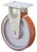 Bockrolle RR110.C10.101 Durchmesser 100mm Tragfähigkeit 400kg Platte 138x110mm