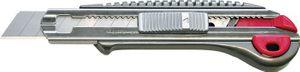 Cuttermesser L.157mm B.18mm Ganzmetall Drucktaste inkl.2 Klingen – Bild 1