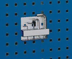 BOTT Innensechskant- Schlüsselhalter m.10Aufnahmen B.115mm D.2-12mm f.Lochplatten – Bild 1
