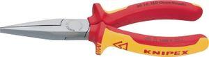KNIPEX Langbeckzange L.160mm lang flach Chrom DIN/ISO5745 m.2Komp.-Hüllen – Bild 1