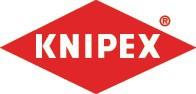 KNIPEX Telefonzange L.160mm Chrom gerade flach rd.spitz m.2Komp.-Hüllen – Bild 2