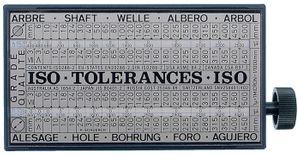 PROMAT Toleranzschlüssel Tolerator B.60xT.30xH.110mm – Bild 1