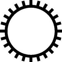 Schlüsselfeile rd. Hieb2 L.100mm DIN7283-A-F o.Heft – Bild 2