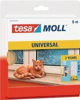 TESA Fensterdichtung moll 5428 B. 9mm H. 6mm PUR-Schaumstoff-Dichtung – Bild 1