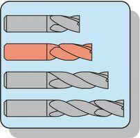 PROMAT Bohrnutenfräser DIN327D Typ N D.2mm HSS-E Co8 2 Schneiden kurz – Bild 4