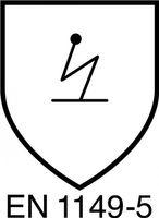 DUPONT Einwegoverall Gr.XL weiß Tyvek Classic, Kat. III, Typ 5, 6 – Bild 5