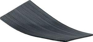 Riffelgummiauflage B.1000xT.500mm schwarz – Bild 1