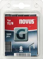 NOVUS Heftklammer Typ 11 L.10xB.10,6mm f.J-031G verz. – Bild 1