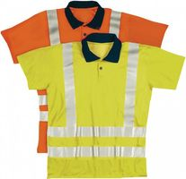 ASATEX Warnschutzpoloshirt Gr.M orange 100%PES/Pique EN471 – Bild 1