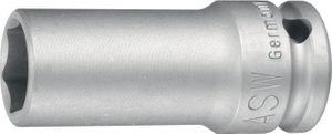 ASW Kraftschraubereinsatz SW17mm 3/4Zoll 4KT DIN3121 lange Ausf. – Bild 1