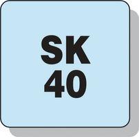 WTE SSBF Präzision Spann-D.0,3-8mm DIN69871-A SK40 f.Rechts-/Linkslauf – Bild 3