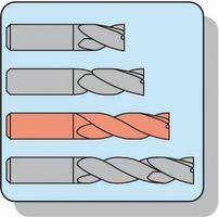 PROMAT Bohrnutenfräser Typ N D.14mm HSS-E Co8 2Schneiden lang – Bild 4