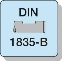 PROMAT Radiusschaftfräser D.4mm HSS-E Co8 TiCN 2Schneiden extra kurz – Bild 3