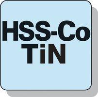 PROMAT Gewindeformer DIN2174/371 M10 HSS-E TiN – Bild 5
