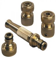 REHAU Wasserschlaucharmaturen Set 1/2Zoll Hahnanschluss m.Schlauchstück – Bild 1