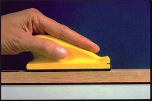 3M Handschleifblock weich L.70xB.125mm f.Schleifstreifen a.Ku. – Bild 1