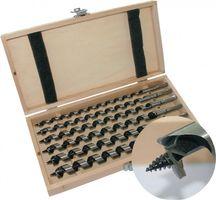 PROMAT Schlangenbohrersatz 8tlg. 6-20mm Ges.-L.230mm i.Holzkassette – Bild 1