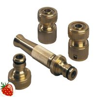 REHAU Wasserschlaucharmaturen Set 3/4Zoll Hahnanschluss m.Schlauchstück – Bild 1
