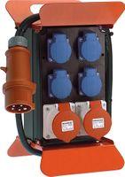 Standstromverteiler 16A 400V 5polig H07RN-F5 G 2,5mm2 IP44