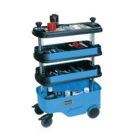 HAZET Werkstattwagen 166C m.4Fächern 725x398x1102/647 blau – Bild 2