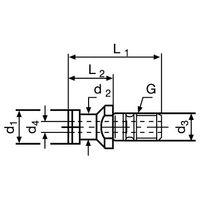 PROMAT Anzugsbolzen DIN69872 Form A SK50 – Bild 3