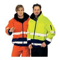 PLANAM Warnschutz-Comfortjacke 2farbig Gr.L orange/marine EN471/343 – Bild 2