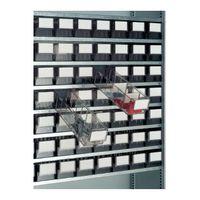 PROMAT Etiketten weiß f.Boxen-B.91mm f.Lagerboxen 100St./VE – Bild 2