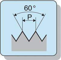 PROMAT Handgewindebohrer DIN352 Nr.1 M8 ISO2 (6H) – Bild 3