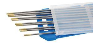 10x MÜHLMEIER Wolframelektrode WL 15 gold 1,6x1,75mm EN26848 strahlungsfrei