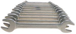 PROMAT Doppelmaulschlüsselsatz SW6x7-24x27mm 10tlg. DIN3110 ISO3318/1085 – Bild 1