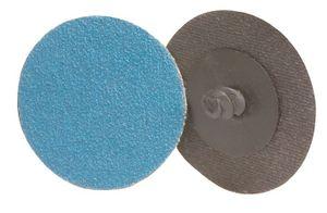 10x PROMAT Schleifscheibe ZK K.120 D.75mm blau VA/Stahl/Titan – Bild 1
