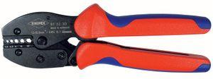 KNIPEX Crimphebelzange L.220mm 0,5-6mm2 f.Steckverbinder m.2Komp.-Hüllen – Bild 1