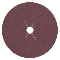 25x KLINGSPOR Vulkanfiberscheibe K.40 D.180mm f.Holz/Metall Korund – Bild 1