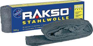 RAKSO Stahlwolle 200g 1 mittel