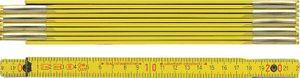 BMI Holzgliedermaßstab Länge 2 m, gelb – Bild 1