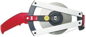 BMI Stahlbandmaß Ergoline AF L.50m mm/- gelb Flextop Genauigk.II – Bild 1