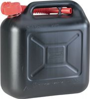 HÜNERSDORFF Kraftstoffkanister Transportkanister B164xH324mm Inhalt 10l Länge 333mm schwarz – Bild 1