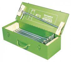 KLEMMSIA Montagebox Portex 9St./Stahlblech – Bild 1