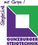 Günzburger Sprossenstehleiter 33016 Alu 2x8 Sprossen beidseitig begehbar – Bild 2