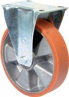 Bockrolle D.200mm Tragkraft 600kg Guß-Polyurethanbandage